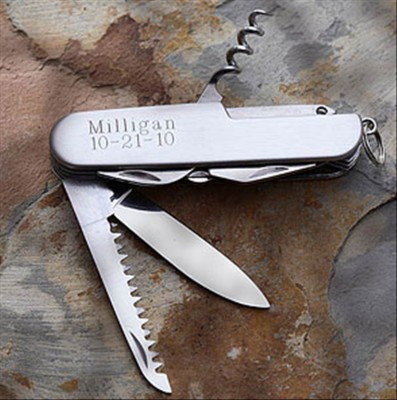 Personalized Function Stainless Pocketknife