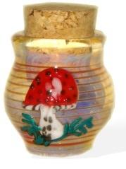 Handmade Pyrex Jar
