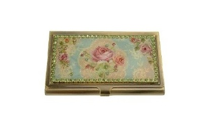 Ladies business card holder thank you gift all the very best colourmoves