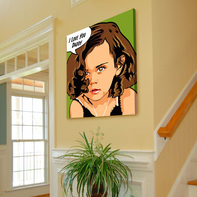 Personalized Popart Picture Gift