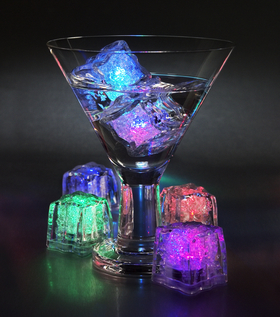Colorful Light Ice Cubes