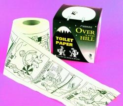 Comics Printed Toilet Printed