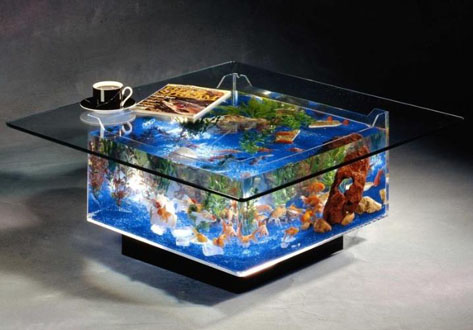 Fish Tank Table on Only Way To Describe This Fish Tank Coffee Table The Base Of The Table