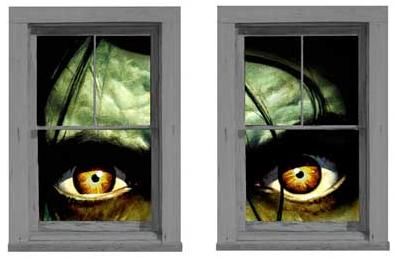 Halloween Window Posters