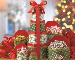 Holiday Gift Towers