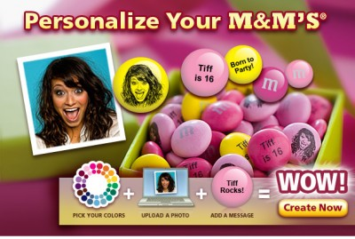 Personalized Your M&Ms