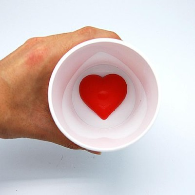 Red Heart White Cup