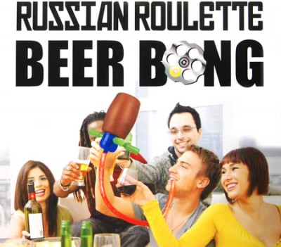 Russian Roulette Beer Party Drinking Game