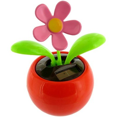 Solar Powered Dancing Flower