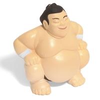 Sumo Wrestler Squeezie