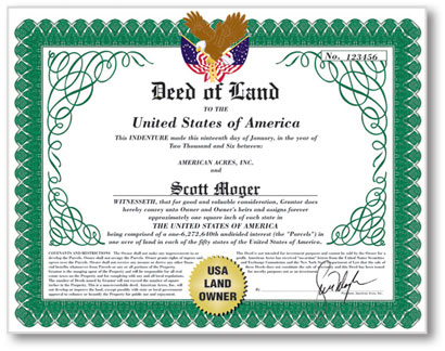 Usa legal land deeds all the very best for All the very best images